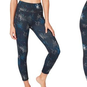 SWEATY BETTY London Contour 7/8 Gym Leggings Beetl